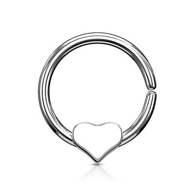 Ring with loose heart