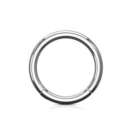 Hinged segment ring in your choice of color
